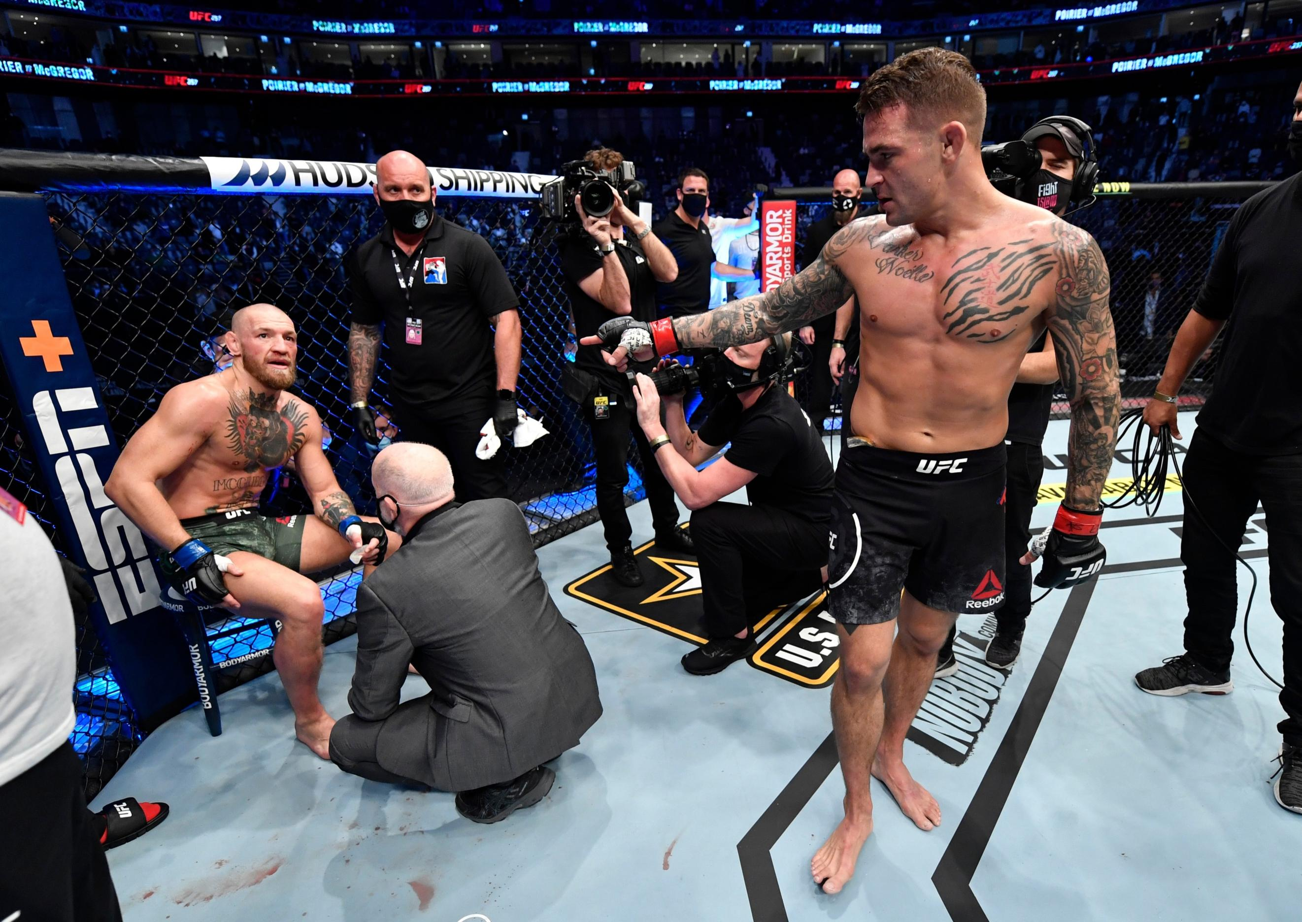 UFC news: Din Thomas shared his thoughts on why Dustin Poirier has earned the right to fight whoever he wants in his next UFC outing.